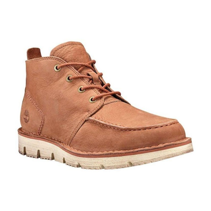 ARGAN OIL BAREFOOT BUFFED - MEN'S WESTMORE MOC TOE CHUKKA Footwear Shoes by Timberland