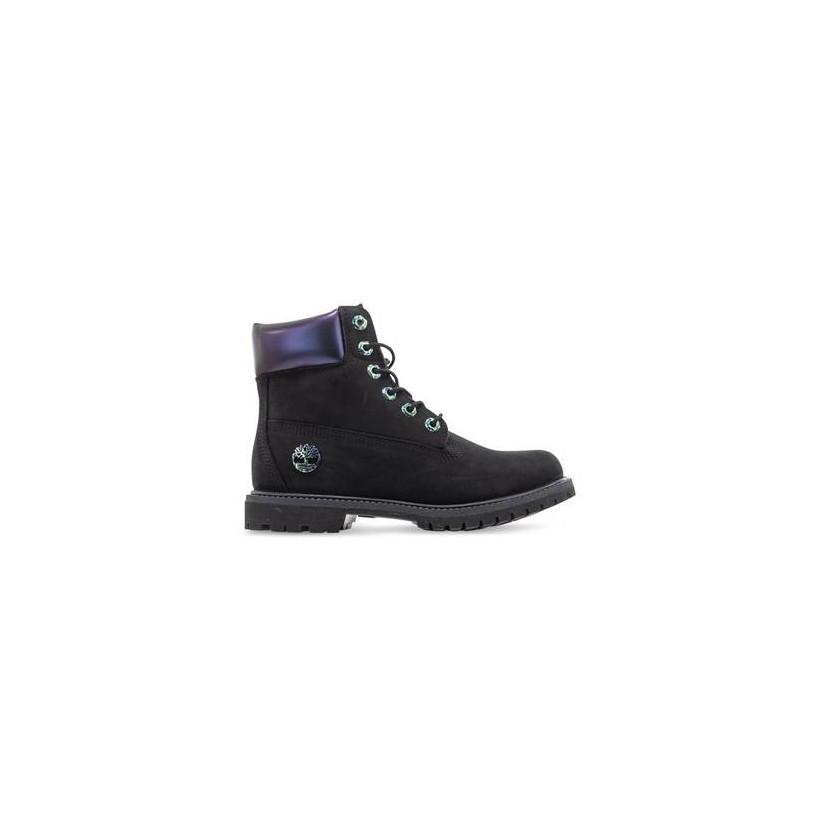 Blk Nubuck Iridesc - Women's 6-Inch Iridescent Boot Https://Www.Timberland.Com.Au/Shop/Sale/Womens/Footwear Shoes by Timberland