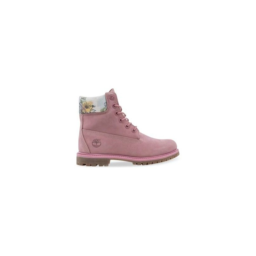 Medium Pink Nubuck - Women's 6-Inch Premium Boot Https://Www.Timberland.Com.Au/Shop/Sale/Womens/Footwear Shoes by Timberland