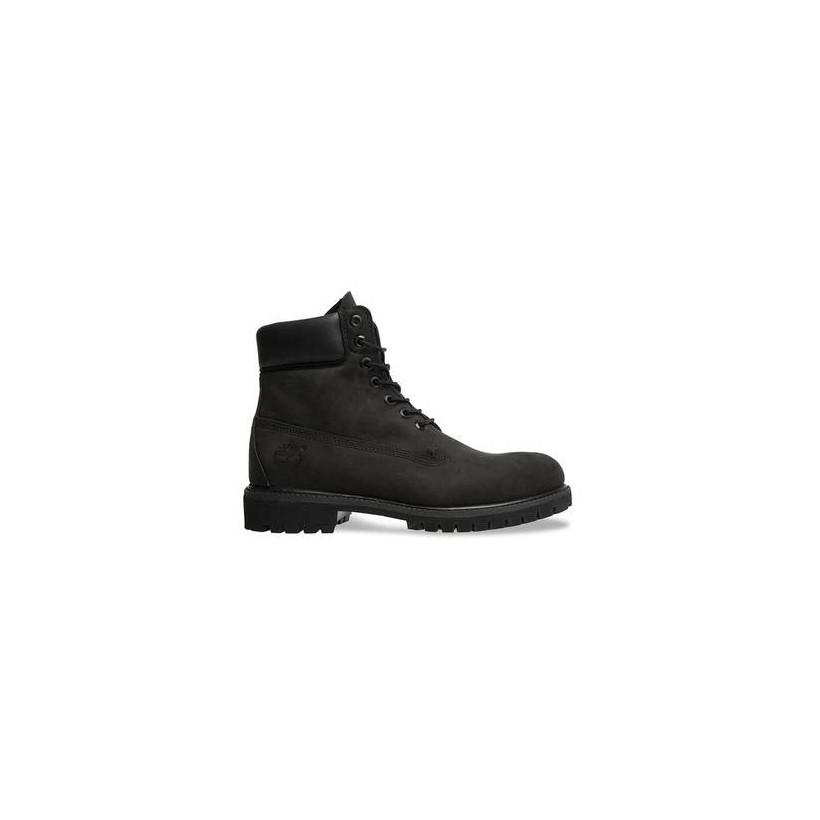 Women's 6 Inch Black Premium Waterproof Boot