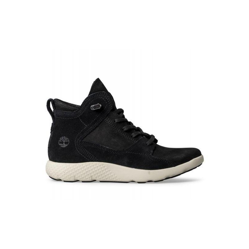 Black Nubuck - Women's Flyroam Hiker Boot Womena Footwear Shoes by Timberland