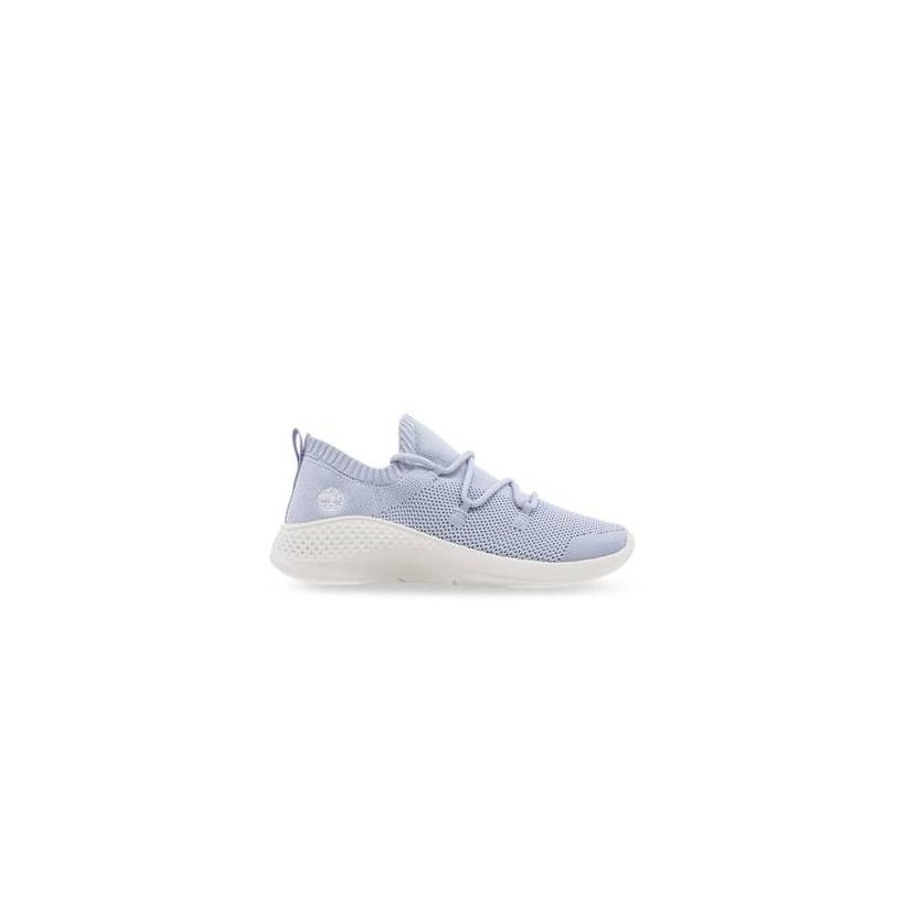 Light Blue Knit - Women's Flyroam? Go Knit Sneakers Footwear Shoes by Timberland