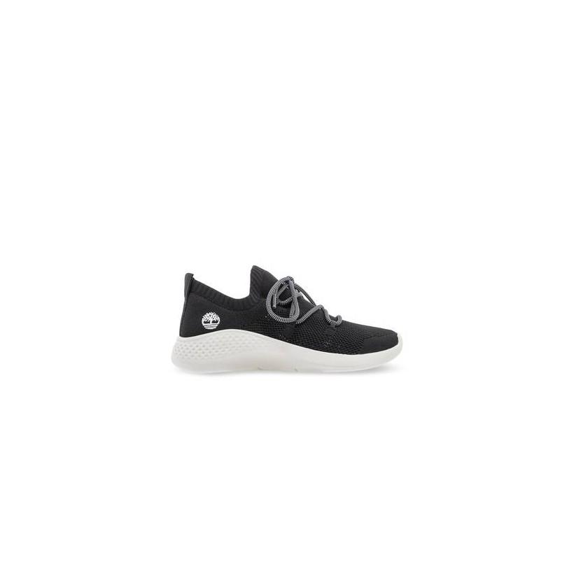 Black Knit - Women's Flyroam? Go Knit Sneakers Footwear Shoes by Timberland