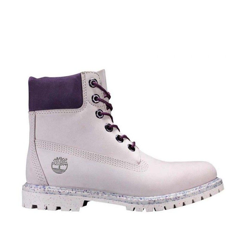 LIGHT PURPLE NUBUCK - WOMEN'S ICE CREAM 6-INCH PREMIUM WATERPROOF BOOT 6 Inch Boots Shoes by Timberland