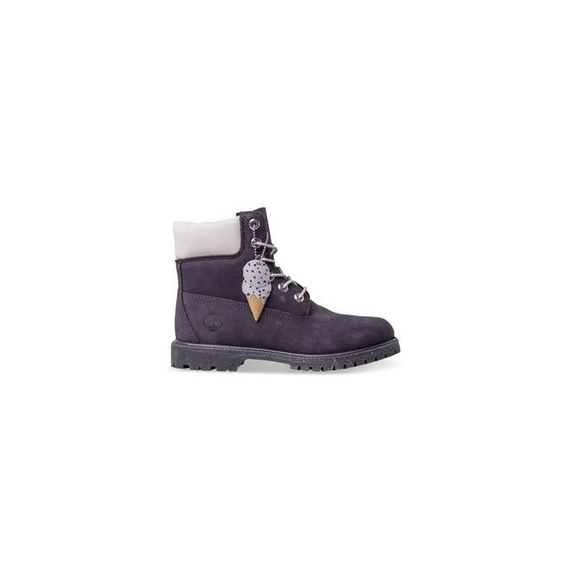 Dark Purple Nubuck - Women's Ice Cream 6-Inch Premium Waterproof Boot 6 Inch Boots Shoes by Timberland
