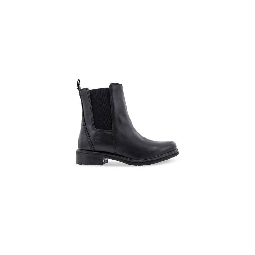 Black Full Grain - Women's Mont Chevalier Chelsea Boots Footwear Shoes by Timberland