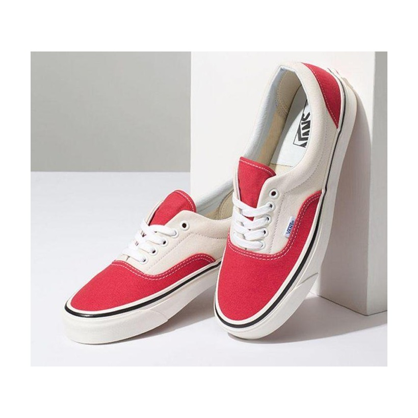 (Anaheim Factory) Og Red/Og White - Anaheim Factory Era 95 DX Sale Shoes by Vans