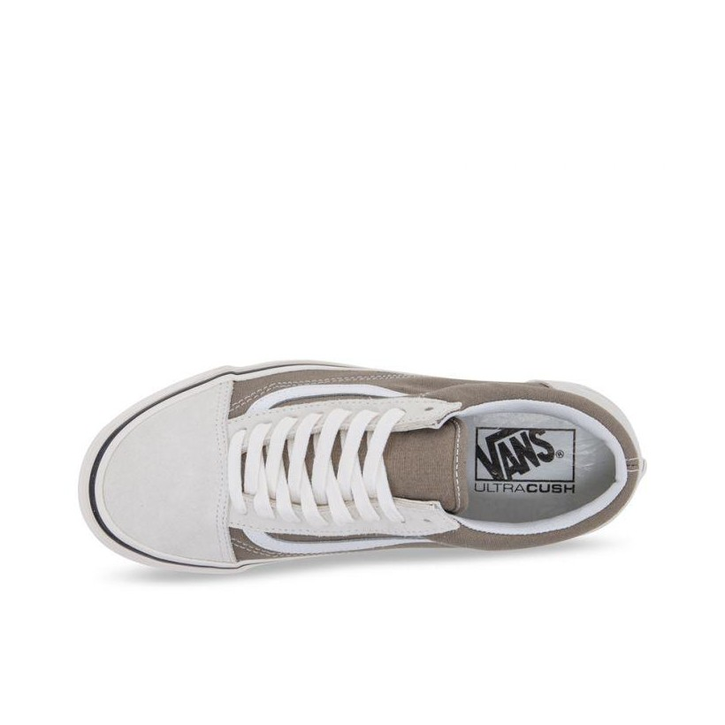 (Anaheim Factory) Og White/Og Birch - Anaheim Factory Old Skool 36 DX OG Birch Sale Shoes by Vans
