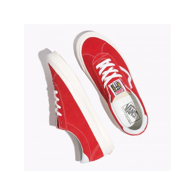 (Anaheim Factory) Og Red/Suede - Anaheim Factory Style 73 Sale Shoes by Vans