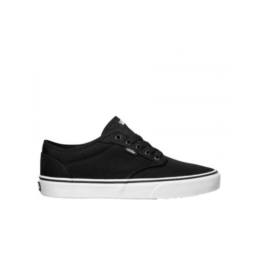 (Canvas) Black/White - ATWOOD (CANVAS) BLACK/WHITE Sale Shoes by Vans