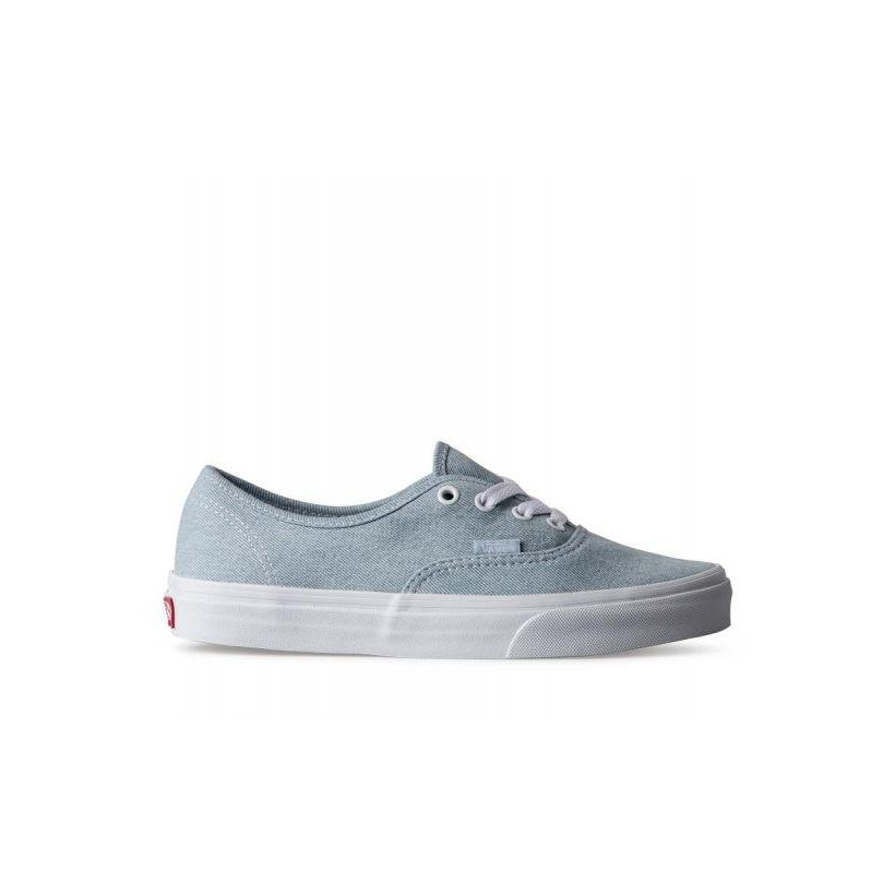 (Denim) Baby Blue - Authentic Sale Shoes by Vans