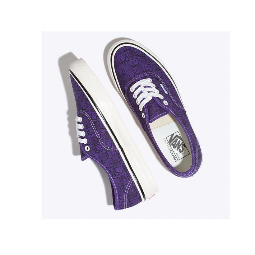 (Anaheim Factory) Og Bright Purple/Square Root - Authentic 44 DX Anaheim Factory Sale Shoes by Vans