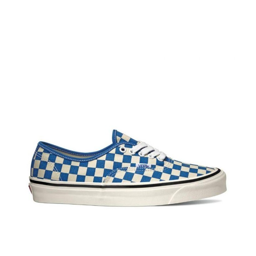 (Anaheim Factory) Og Blue/Check - Authentic 44 DX OG Blue Check Sale Shoes by Vans