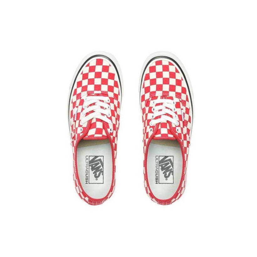 (Anaheim Factory) Og Red/Check - Authentic 44 DX OG Red Check Sale Shoes by Vans