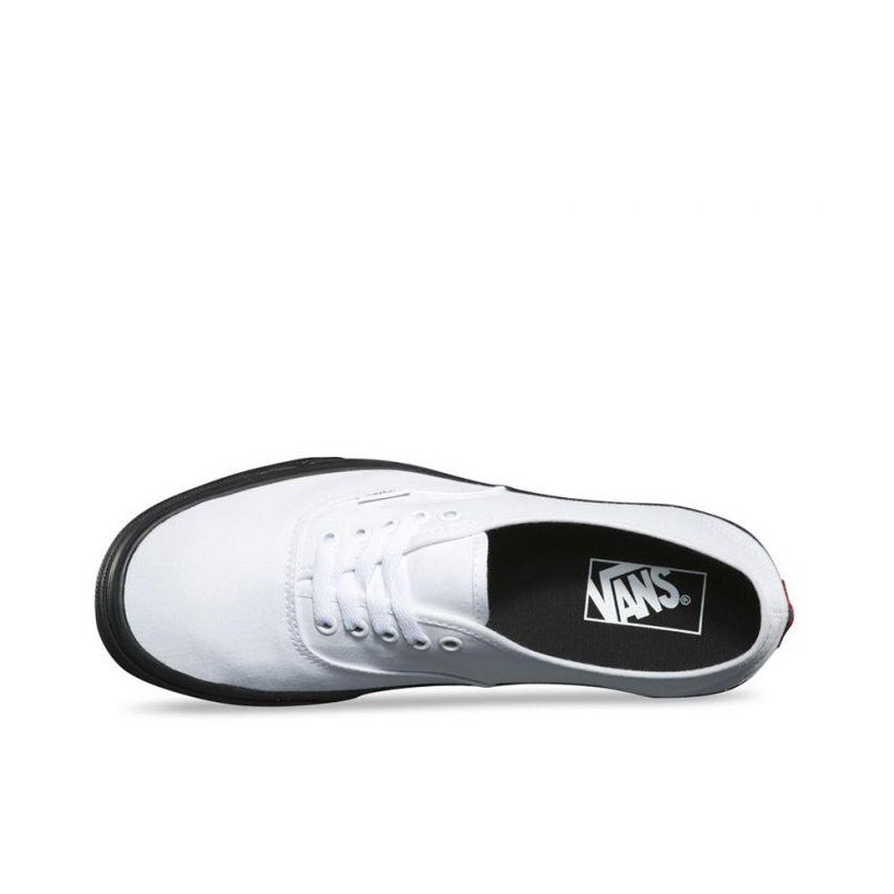 (Black Outside) True White - Authentic Black Outsle Sale Shoes by Vans