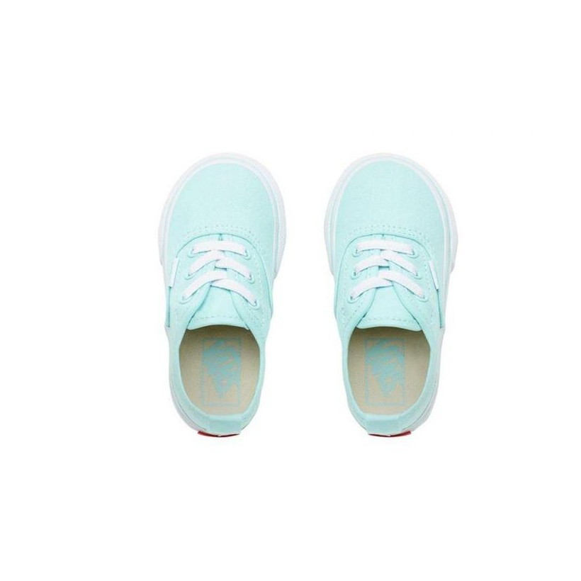 Blue Tint/True White - Authentic Elastic Lace Blue Tint Toddler Sale Shoes by Vans