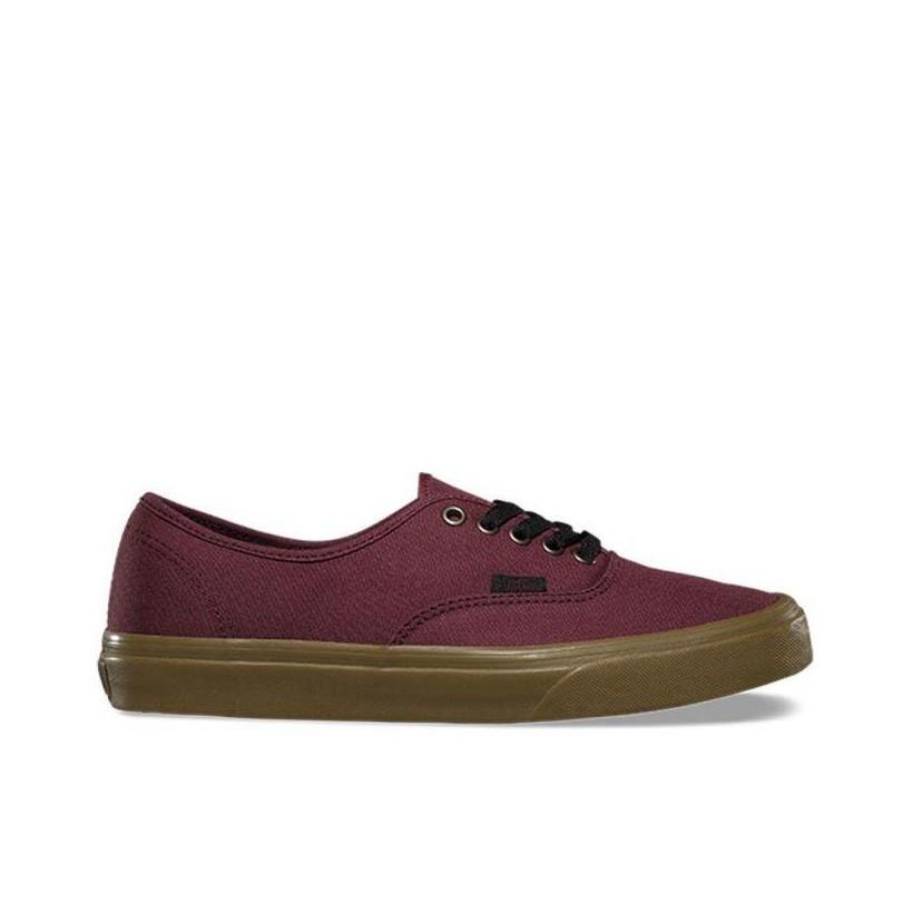 (Gum Outsole) Catawba Grape/Black - Authentic Gumsole Sale Shoes by Vans