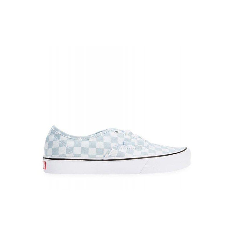 (Canvas) Baby Blue/True White - Authentic Lite Sale Shoes by Vans