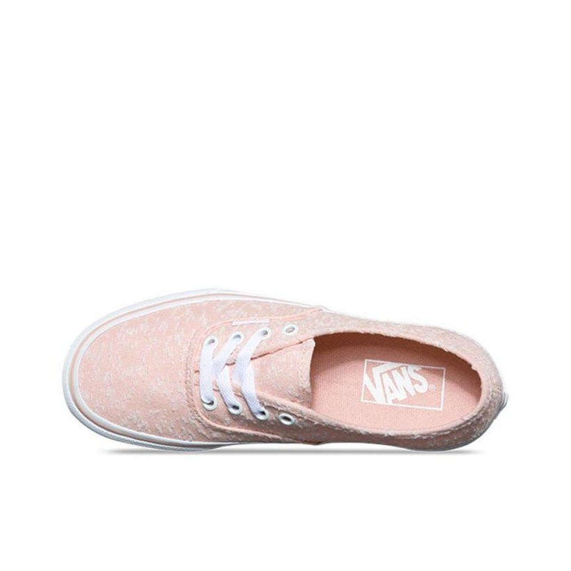 (Marled Canvas) Evening Sand/True White - Authentic Marled Canvas Sale Shoes by Vans