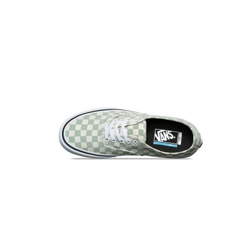 (Checkerboard) Desert Sage - Authentic Pro Sale Shoes by Vans