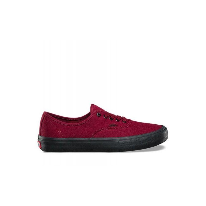 Cabernet/Black - Authentic Pro Sale Shoes by Vans