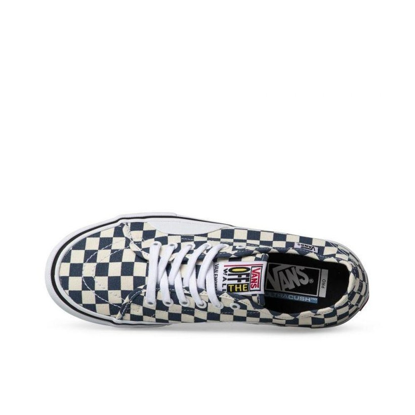 (Checkerboard) Dark Denim - AV Classic Sale Shoes by Vans
