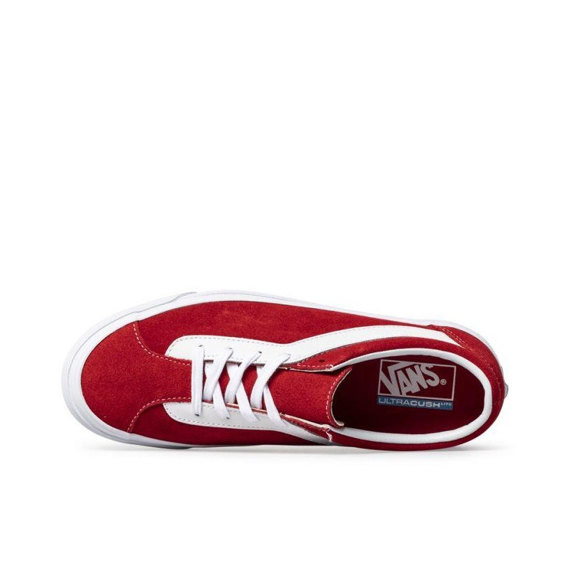 (Staple) Racing Red/True White - Bold Ni Sale Shoes by Vans