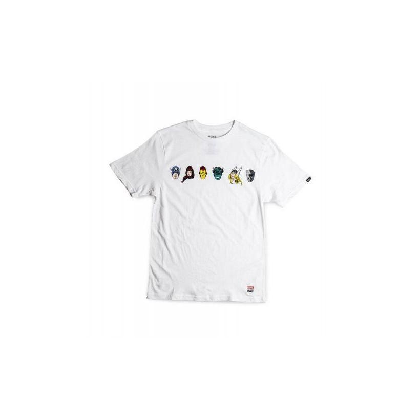 62c1f2201906 White - Boys Vans X Marvel Avengers T-Shirt Sale by Vans