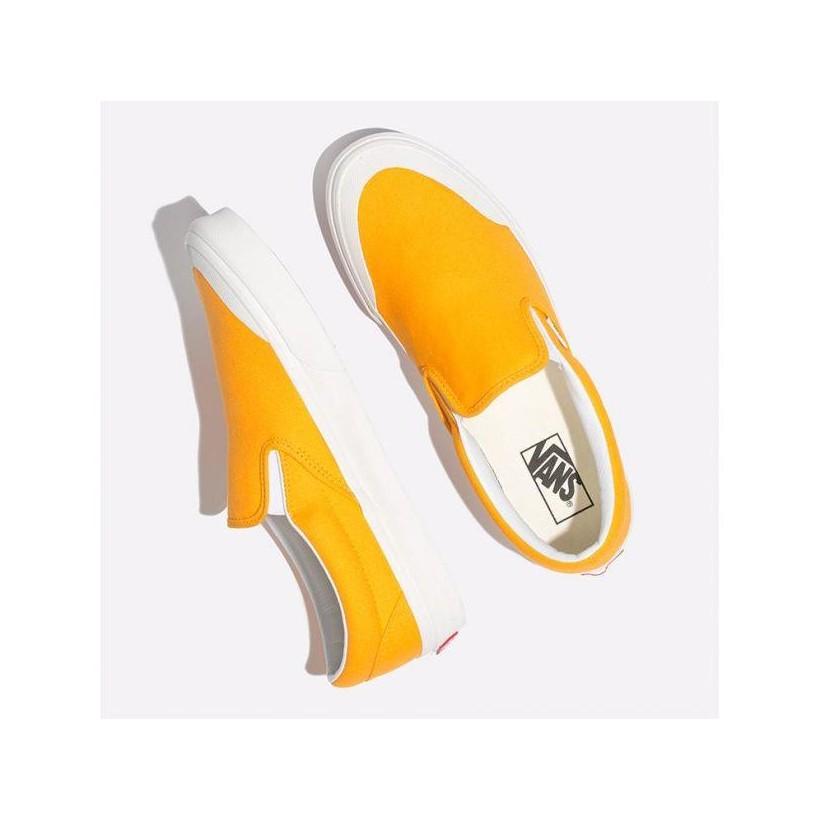 Zinnia - Classic Slip On 138 Zinnia Yellow Sale Shoes by Vans