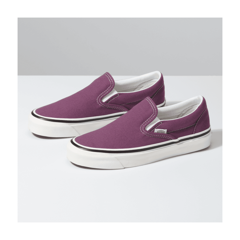 (Anaheim Factory) Og Grape - CLASSIC SLIP ON 98 DX ANAHEIM OG GRAPE Sale Shoes by Vans