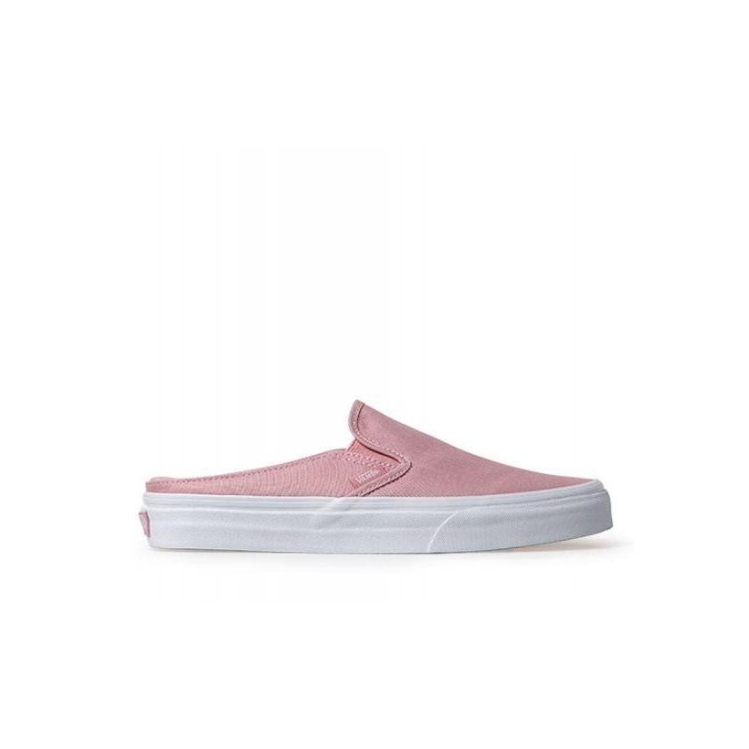 (Canvas) Zephyr/True White - Classic Slip-On Mule Sale Shoes by Vans