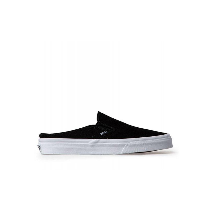 (Canvas) Black/True White - Classic Slip-On Mule Sale Shoes by Vans