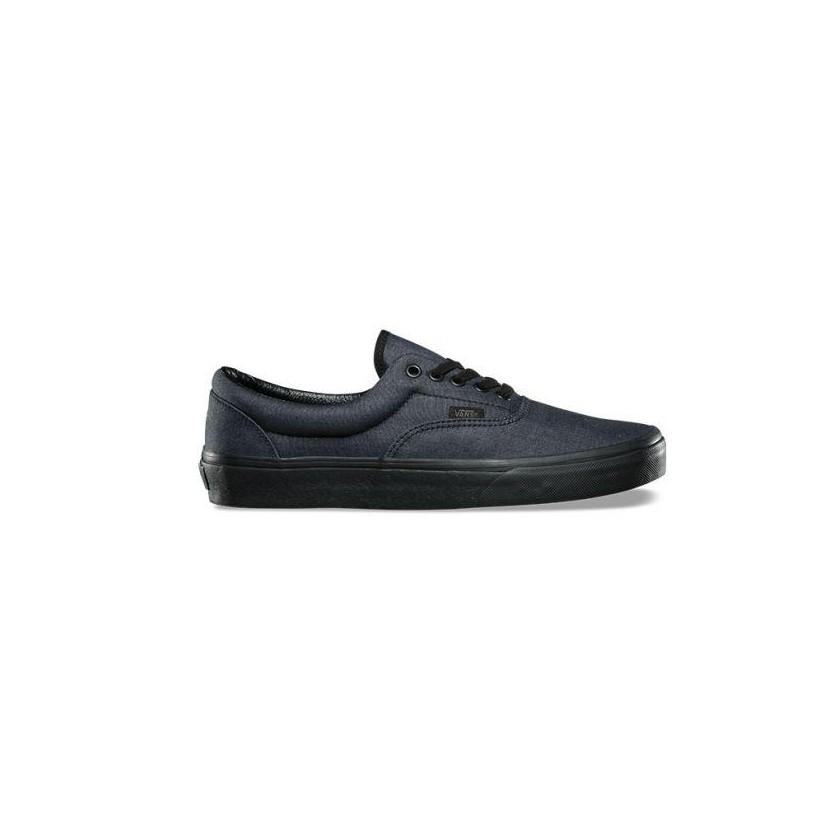 (Mono Chambray) black/black - Era Sale Shoes by Vans