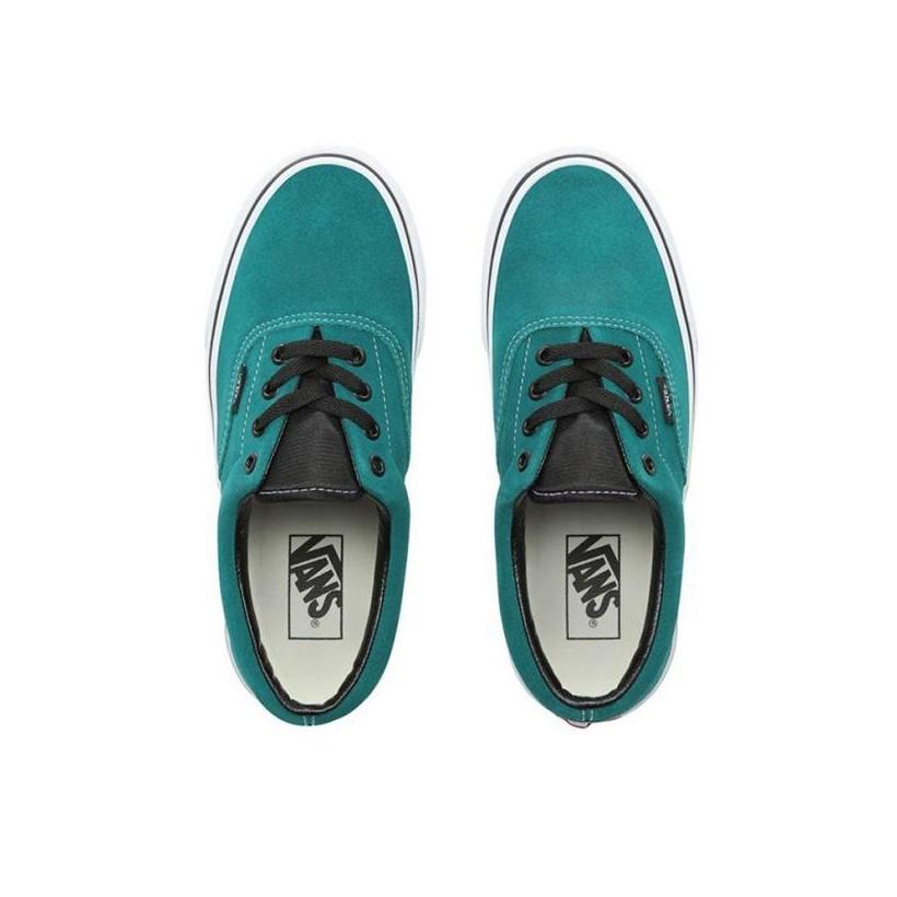 (California Native) Quetzal Green/True White - Era California Native Quetzal Green Sale Shoes by Vans