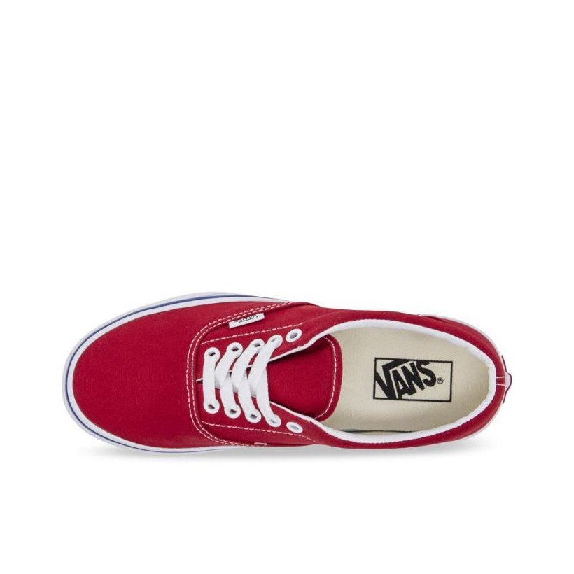 (Check Block) Tango Red - Era Check Block Sale Shoes by Vans