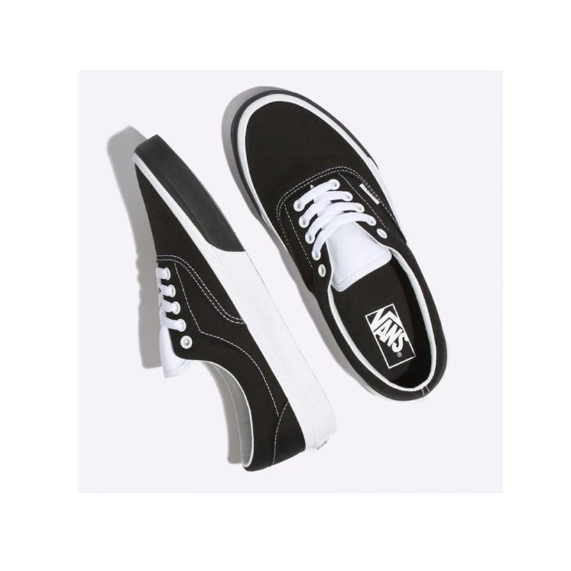 (Color Block) Black/True White - Era Colour Block Black/White Sale Shoes by Vans