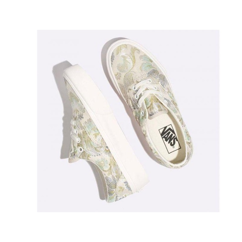 (Daring Damsels) Multi/Marshmallow - Era Platform Daring Damsels Sale Shoes by Vans