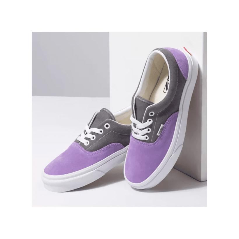 (Retro Sport) Quiet Shade/Fairy Wren - ERA RETRO SPORT QUIET SHADE Sale Shoes by Vans