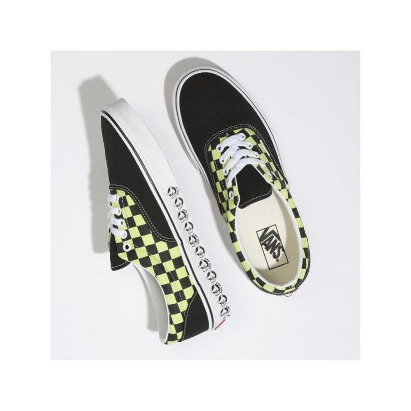 (Vans Bmx) Black/Sharp Green - ERA VANS BMX BLACK Sale Shoes by Vans