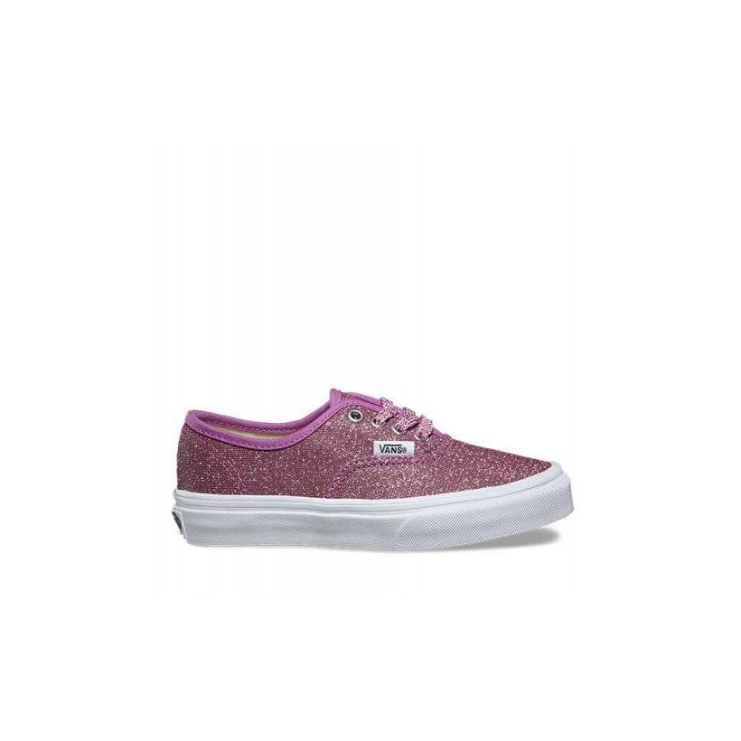 38e2c376fa (Lurex Glitter) Pink True Wht - Kids Authentic Lurex Glitter Sale by Vans