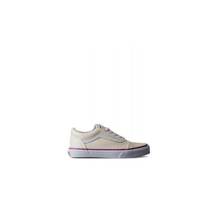 ce97b88e6af1 (Glitter) Rainbow White - Kids Old Skool Sale by Vans
