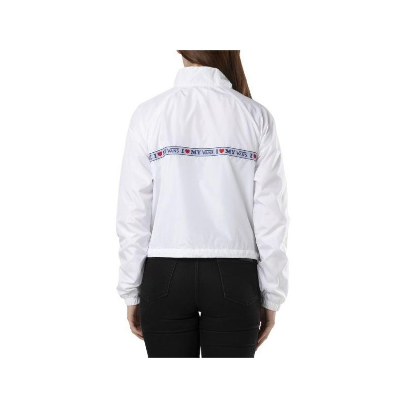 White - My Vans White Anorak Sale Shoes by Vans