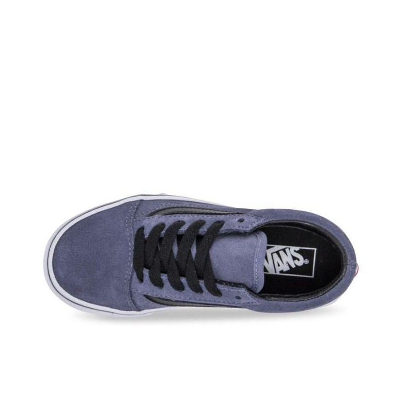 (Suede) Grisaille/Black - Old Skool Sale Shoes by Vans