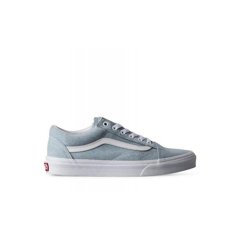 6ccdfa05 (Denim) Baby Blue - Old Skool Sale Shoes by Vans