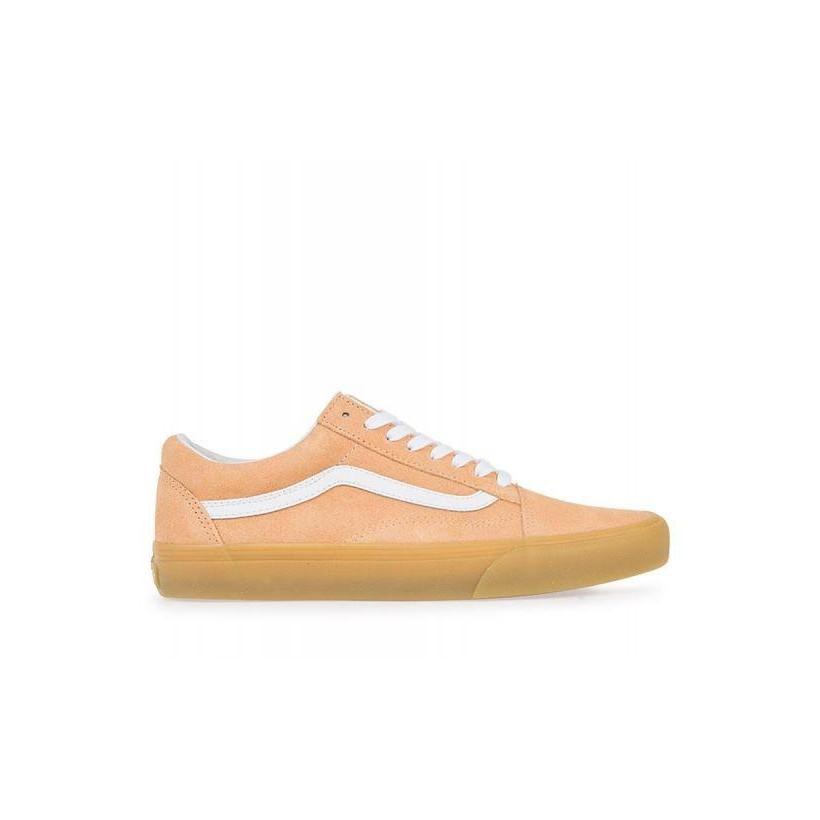 (Double Light Gum) Apricot Ice - Old Skool Double Light Gum Sale Shoes by Vans