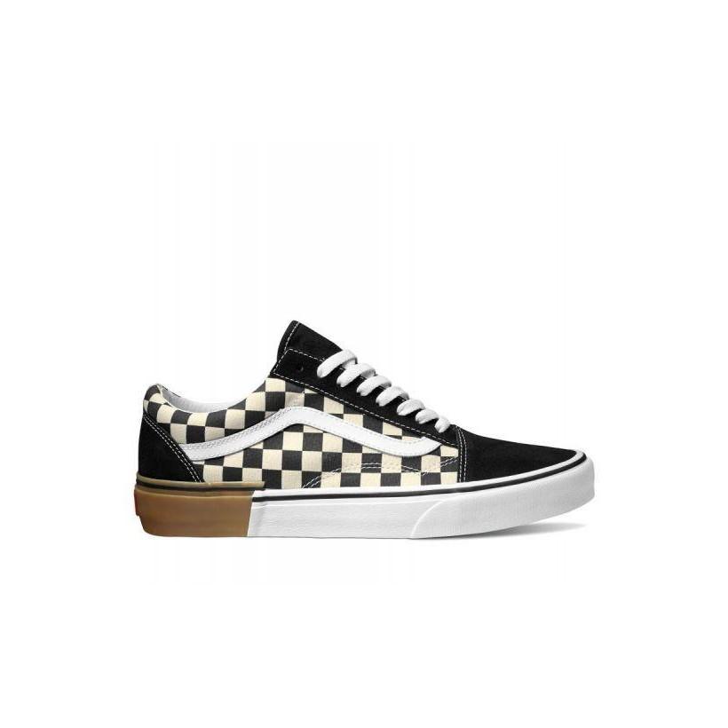 (Gum Block) Checkerboard - Old Skool Gum Block Sale Shoes by Vans
