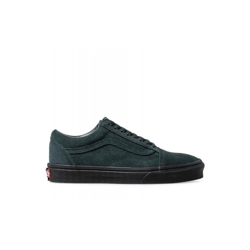 (Black Outsole) Darkest Spruce/Black - Old Skool Outsole Sale Shoes by Vans