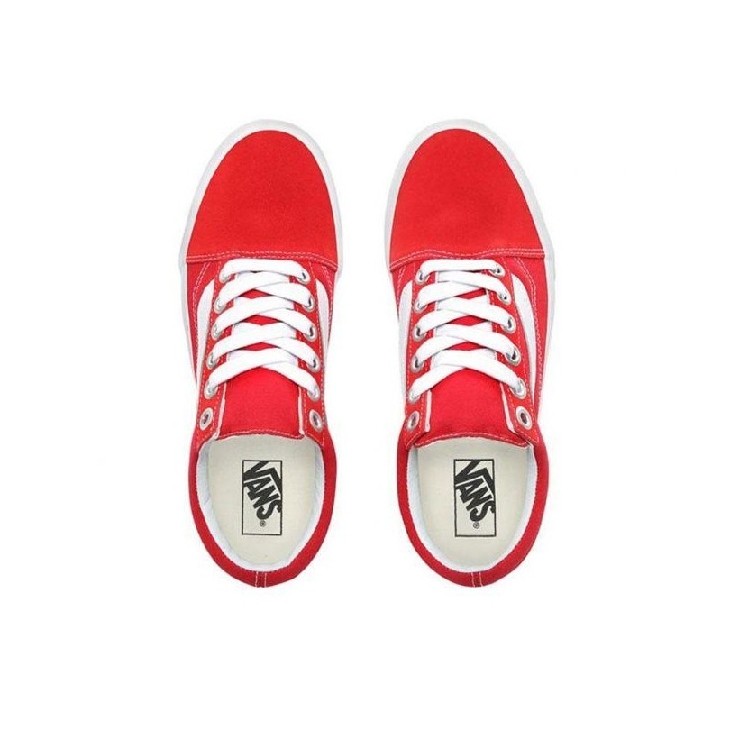 Racing Red/true White - Old Skool Racing Red/True White Sale Shoes by Vans