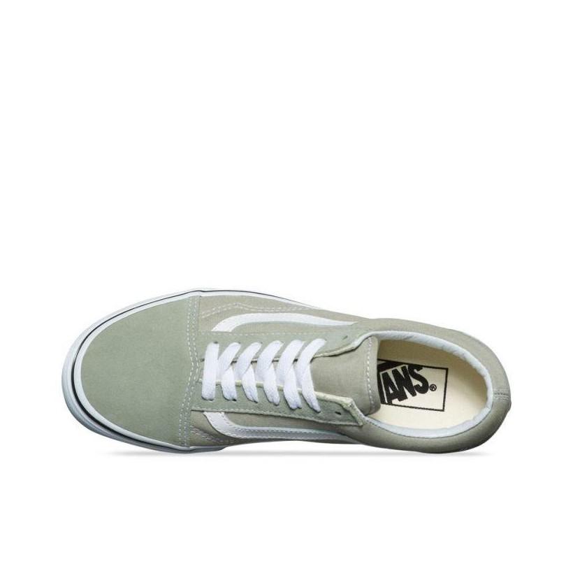 Desert Sage/True White - Old Skool Sale Shoes by Vans