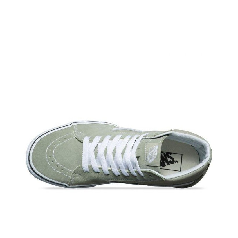 Desert Sage/True White - Sk8-Hi Sale Shoes by Vans
